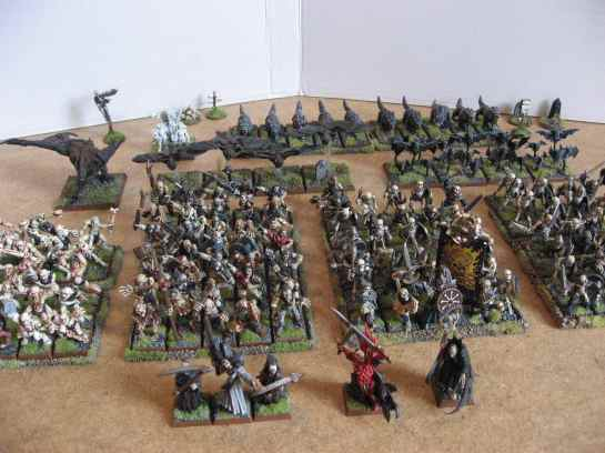 Warhammer Vampire Counts army