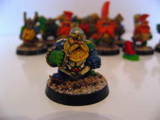 Blood Bowl Dwarf Runner