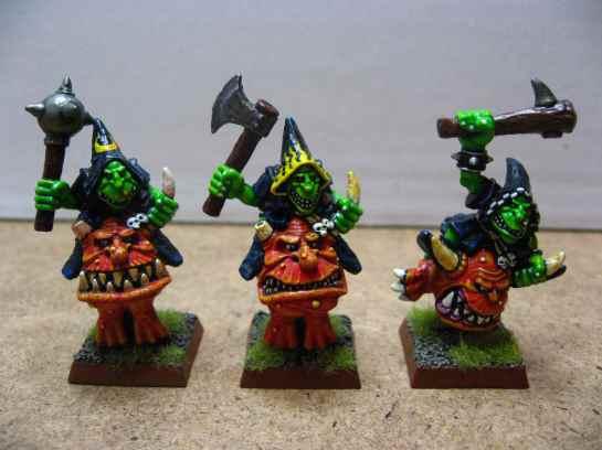 Warhammer Night Goblin Squig Hoppers