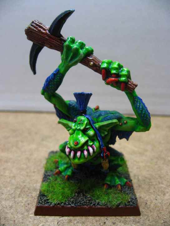 Warhammer River Troll with spiked club