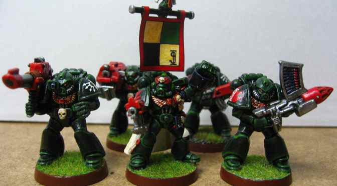 Dark Angels Devastators