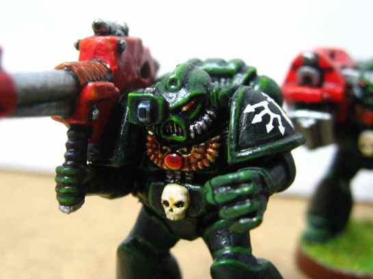 Dark Angels Devastator with lascannon