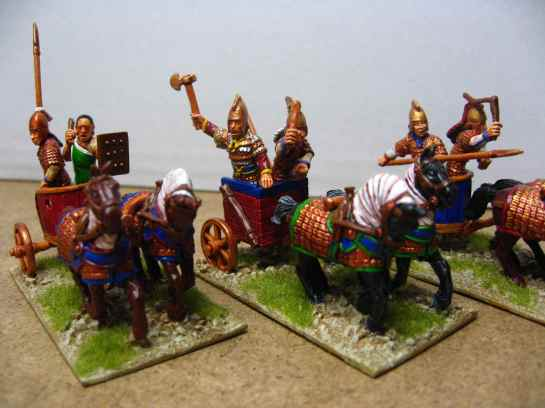 Hittite chariots by Foundry Miniatures