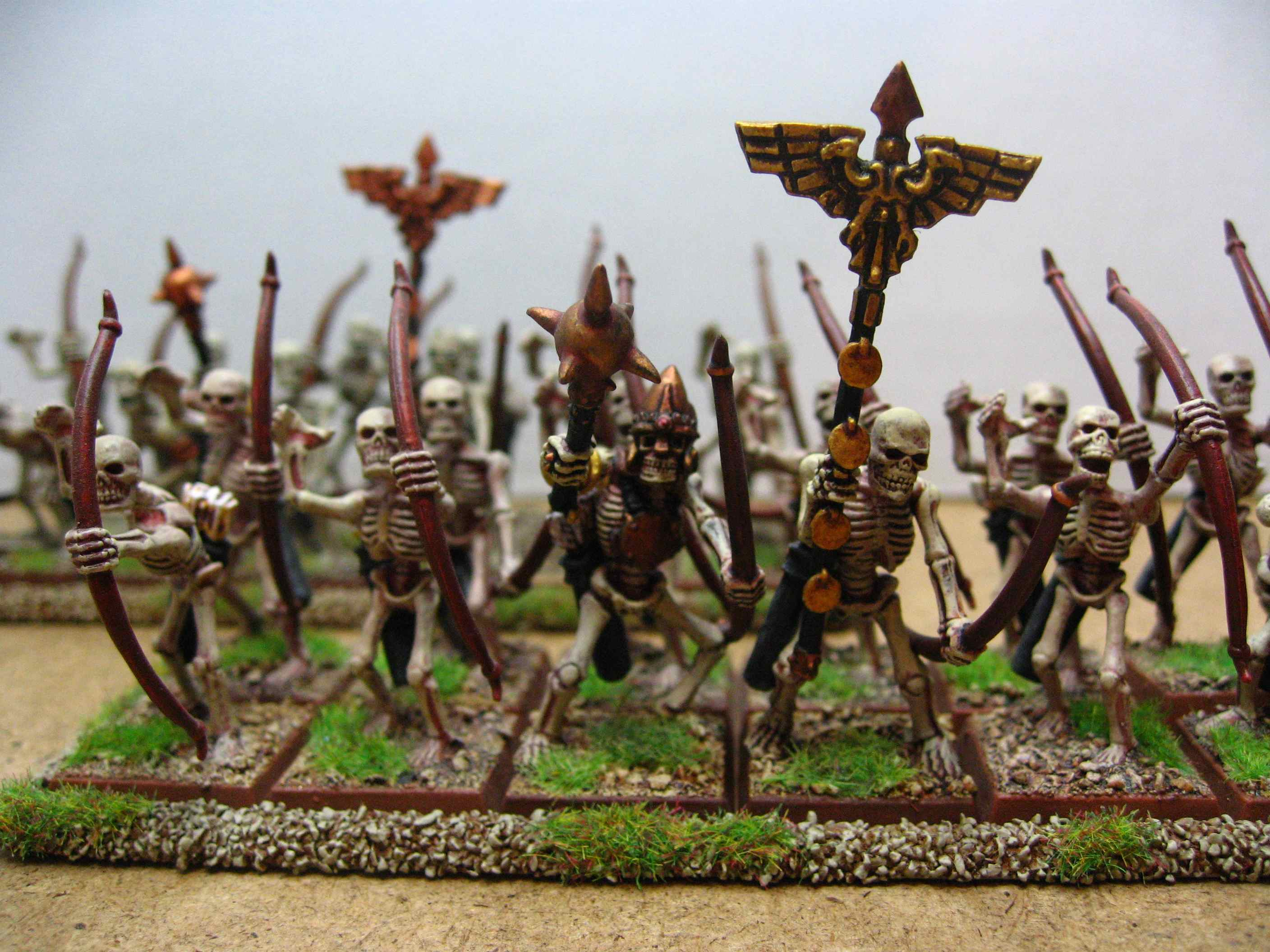 Tomb King Archers Tomb Kings Skeleton Archers
