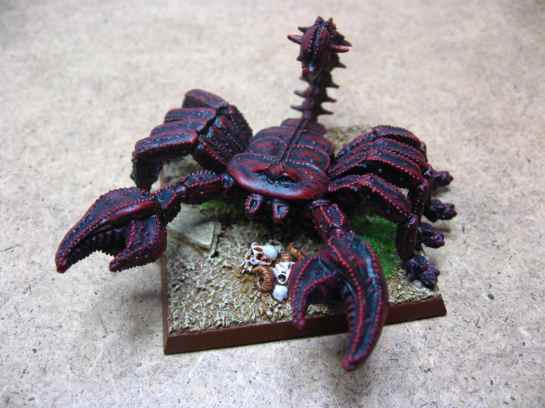 Oldhammer Giant Scorpion