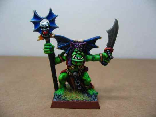 Warhammer Quest Orc Shaman