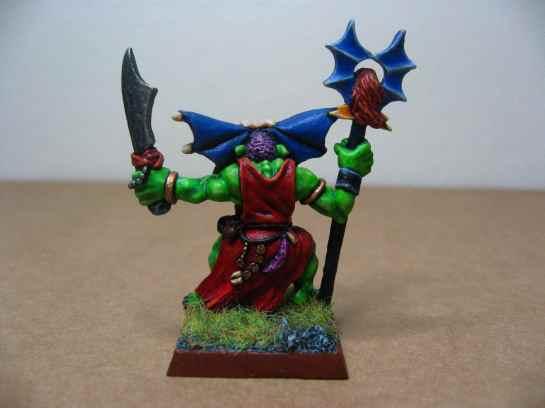 Warhammer Quest Orc Shaman back