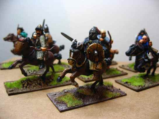 Hun miniatures from Gripping Beast