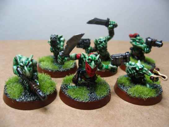 Gretchin mob for Warhammer 40k