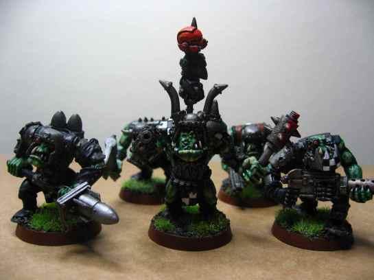 Goff Ork mob