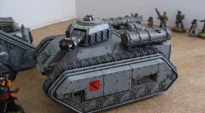 Mordian Hellhound Flame Tank