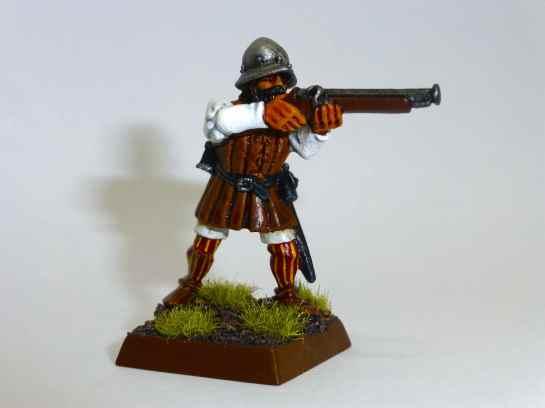 Conquistador with arquebus