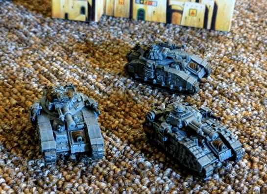 Baneblade Super-Heavy Tank Company