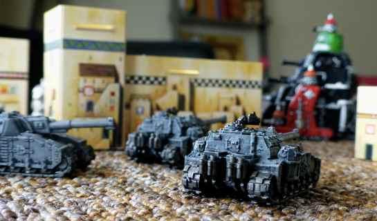 Shadowsword Super-Heavy Tank Company