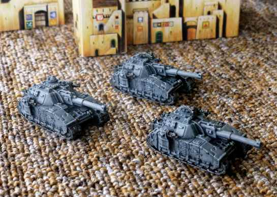 Shadowsword Super-Heavy Tank Company