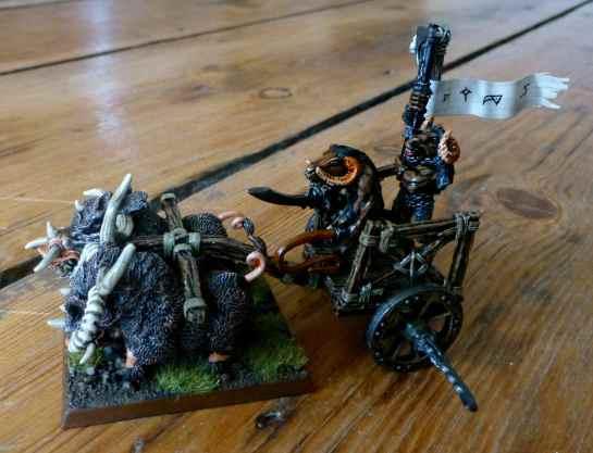 Beastmen Tuskgor Chariot