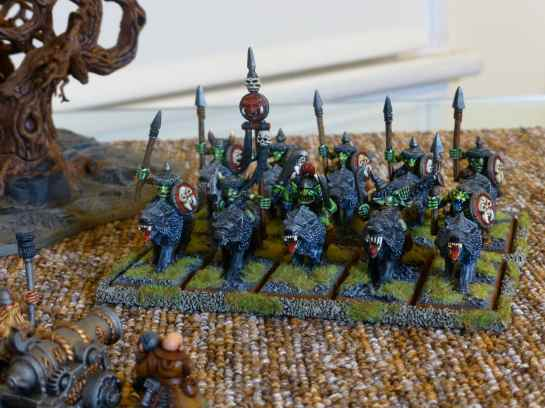 Goblin Wolf Riders for Warhammer