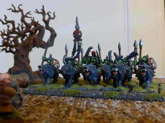 Goblin Wolf Riders by Marauder Miniatures