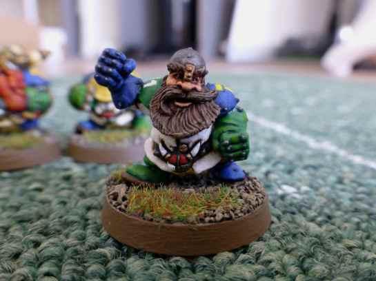 Blood Bowl Dwarf Runner