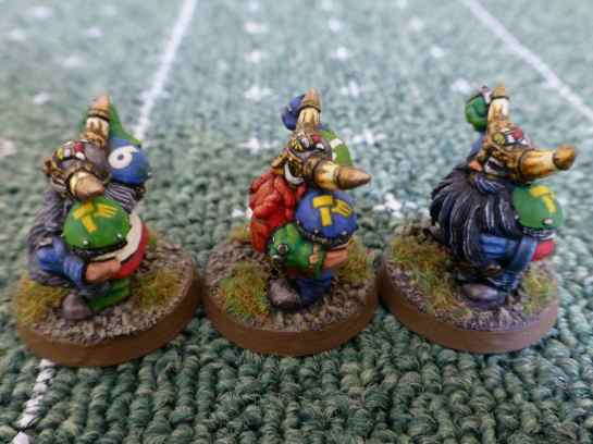Blood Bowl Dwarf Blockers
