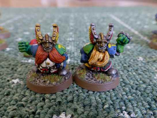 Blood Bowl Dwarf Blitzers