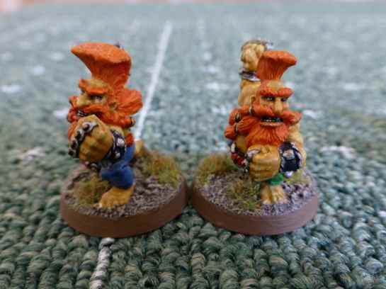 Blood Bowl Dwarf Troll Slayers