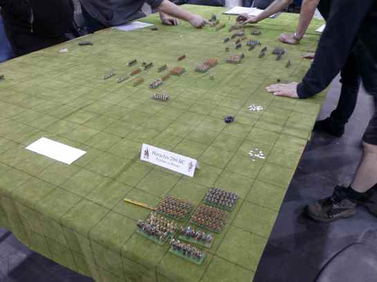 Salute 2013 - Heraclea 280 BC by Oxford Wargames Society