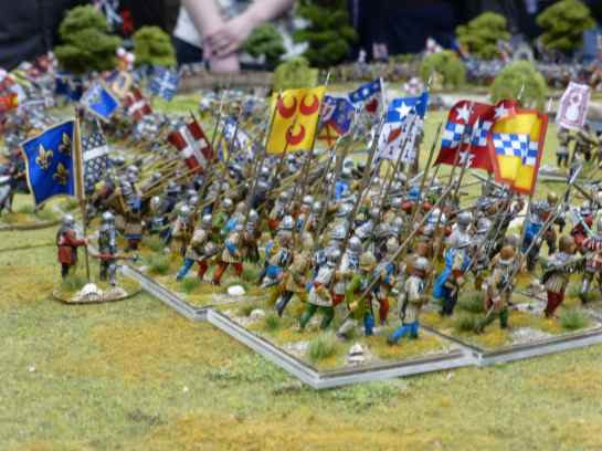 Salute 2013 - Battle of Cravant 1423 by the Lance & Longbow Society