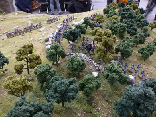 Salute 2013 - Battle of Little Big Top presented by Wargames Illustrated