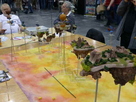 Salute 2013 - Fantasy Skies by Ilford Wargames Group
