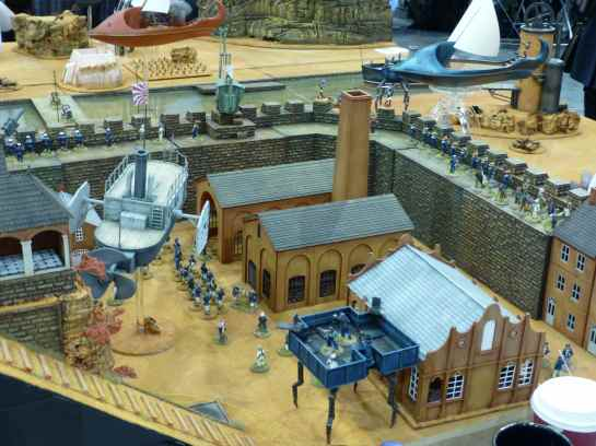 Salute 2013 - War on Mars by Red Planet Miniatures