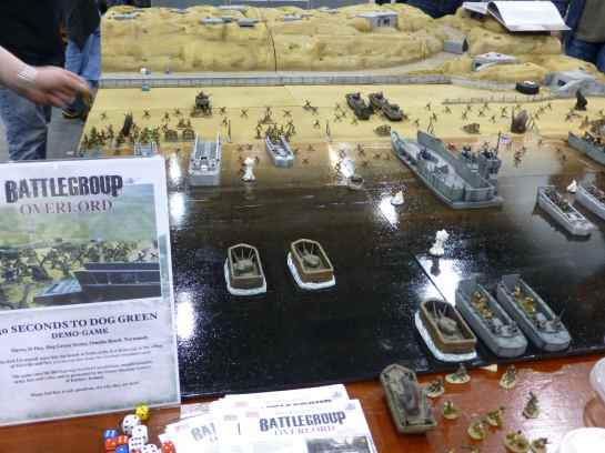 Salute 2013 - 30 Seconds to Dog Green for Battlegroup Overlord