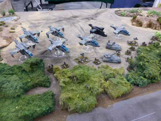 Salute 2013 - Hammer's Slammers: The Crucible by South London Warlords