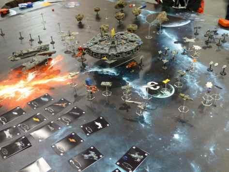 Salute 2013 - Full Thrust Space Race by Mechworld