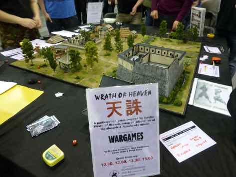 Salute 2013 - Wrath of Heaven by Wargames, Soldiers & Strategy