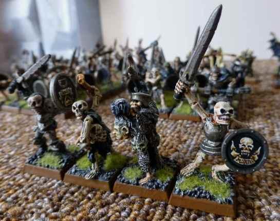 Oldhammer Undead Skeletons