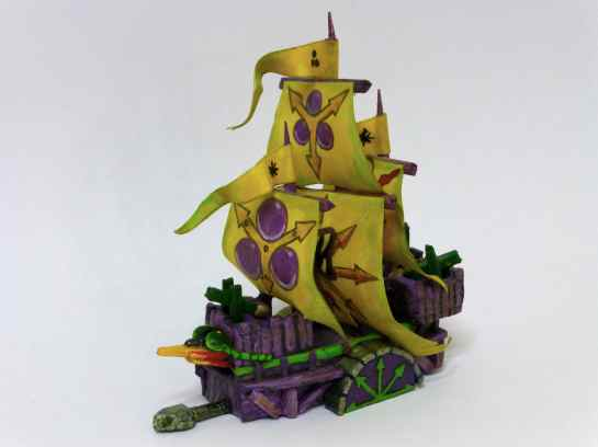 Man O'War Plagueship of Nurgle