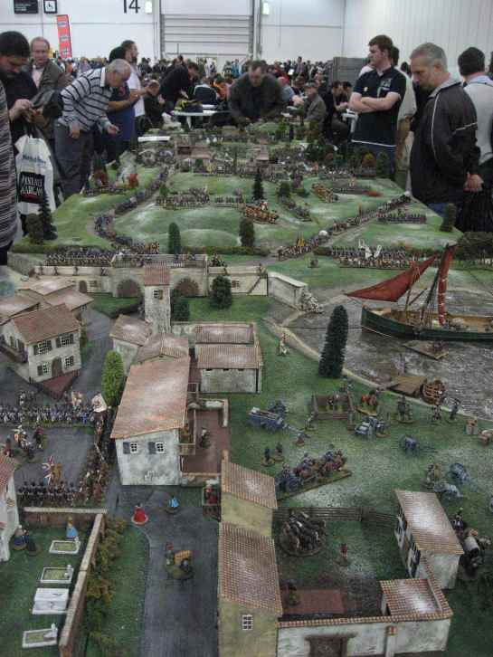 Salute 2012 - Battle of Corunna 1809
