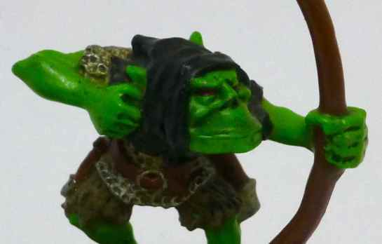 Oldhammer Orc Arrer Boy original close-up