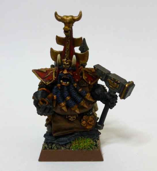 Chaos Dwarf Daemonsmith
