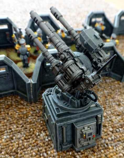 Quad-gun