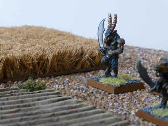 Beastmen roaming the fields