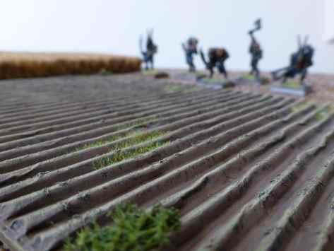 Beastmen roaming the fields