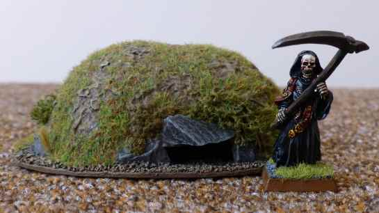 Barrow with Cairn Wraith