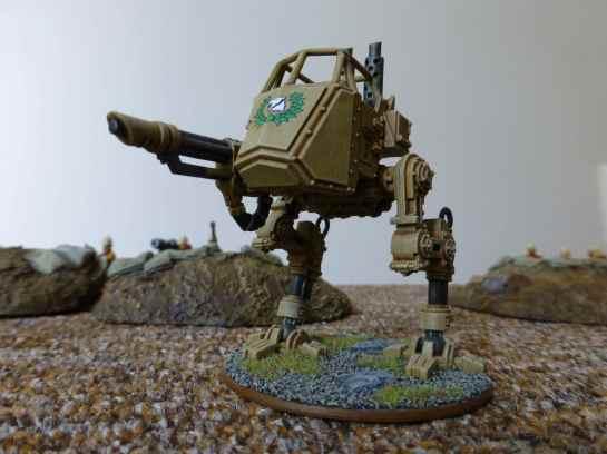 Imperial Guard Praetorian Scout Sentinel