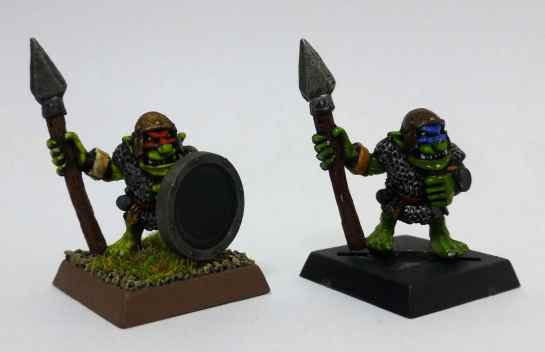 Oldhammer Marauder Goblin Spearmen