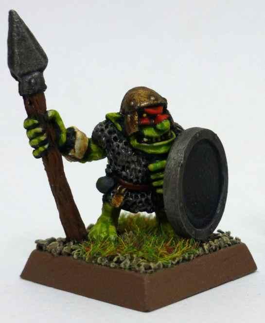Oldhammer Marauder Goblin Spearman