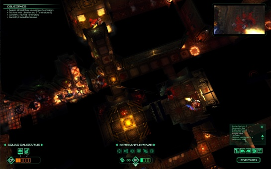 Space Hulk in-game screenshot