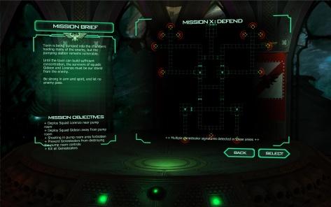 Space Hulk mission briefing