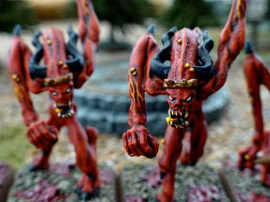 Oldhammer Chaos Bloodletters of Khorne